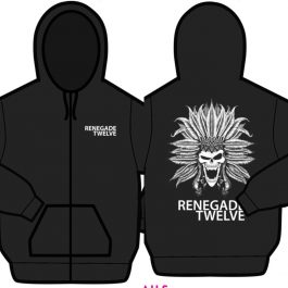 Renegade Twelve Zip Up Hoodie